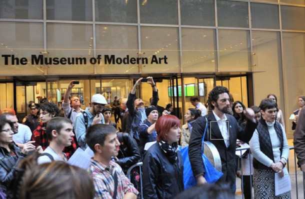 Occupy Moma - New York