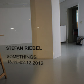 Stefan Riebel - Somethings in der Boutique am Ebertplatz