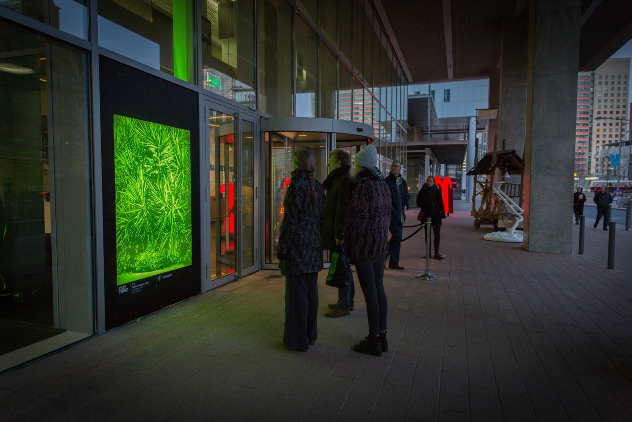 pantone 352u (2014) - Stephan Keppel - Wilhelminapier. Rotterdam