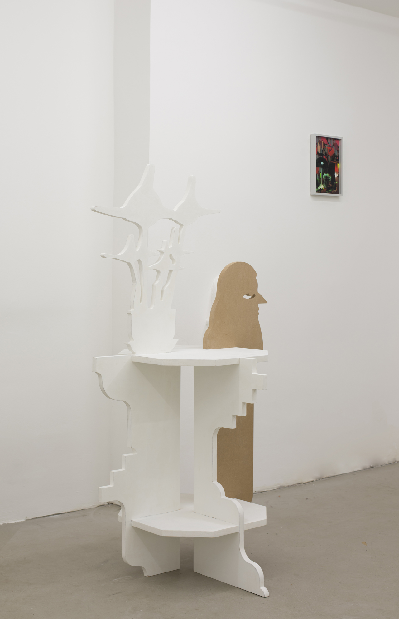 Alex Morrison, Up the Wooden Hill to Bedfordshire, installation view, MÉLANGE 2015.